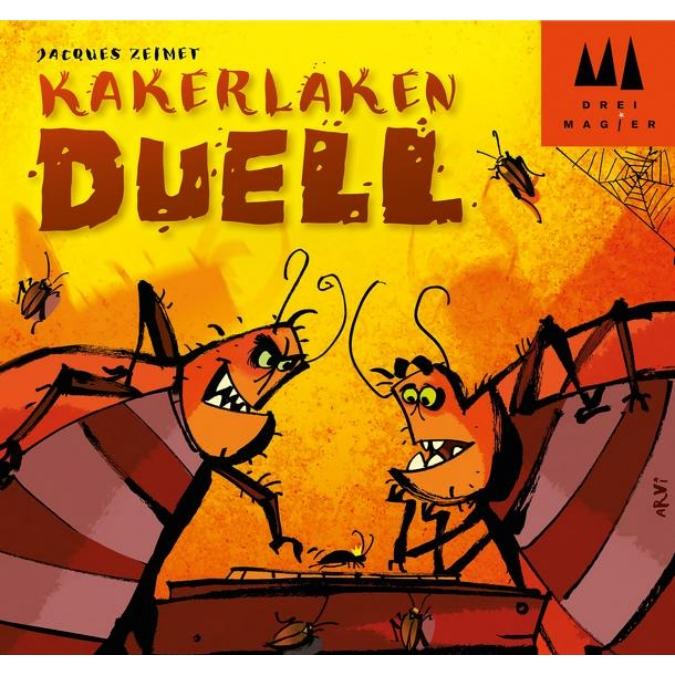 Csótánypárbaj - Kakerlaken Duell társasjáték