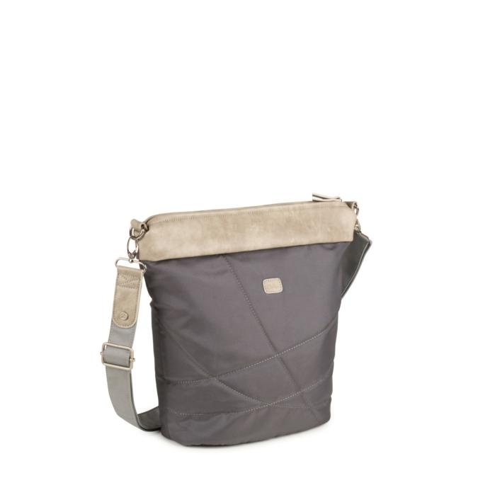 Zwei-bags FE12 oldaltáska, szín: stone