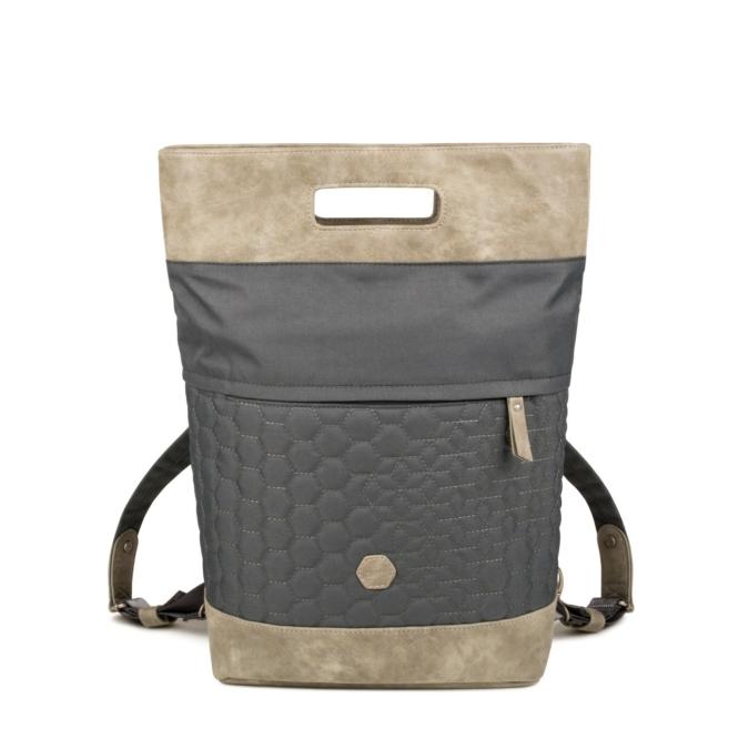 Zwei-bags FE16 2in1 hati- és oldaltáska, szín: stone, szürke