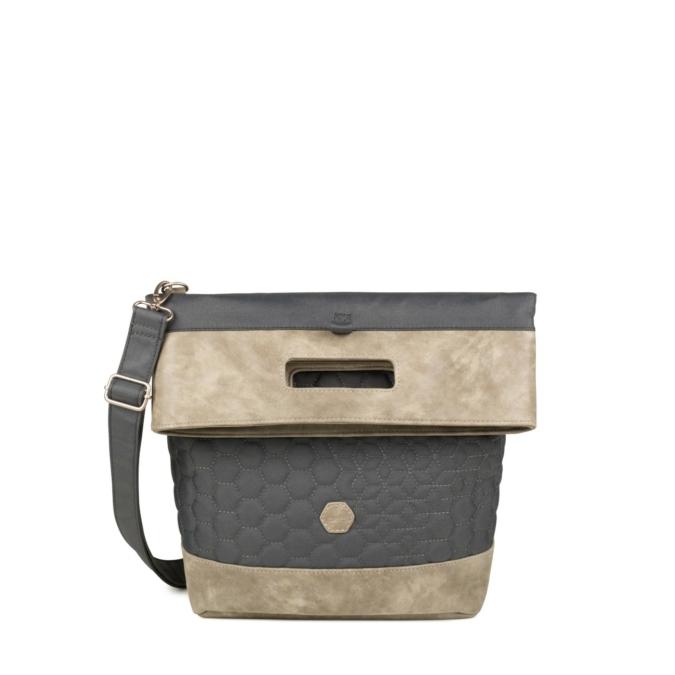 Zwei-bags FE16 2in1 hati- és oldaltáska, szín: stone