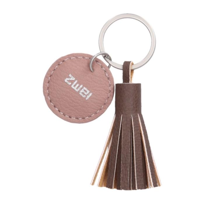 Zwei KEY kulcstartó, szín: wood