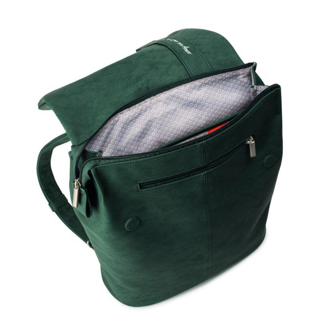 Zwei-bags M.MR14 hátitáska, szín: nubuk-petrol