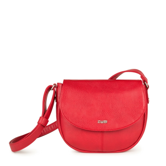 Zwei-bags Mademoiselle M. M7 oldaltáska, szín: red