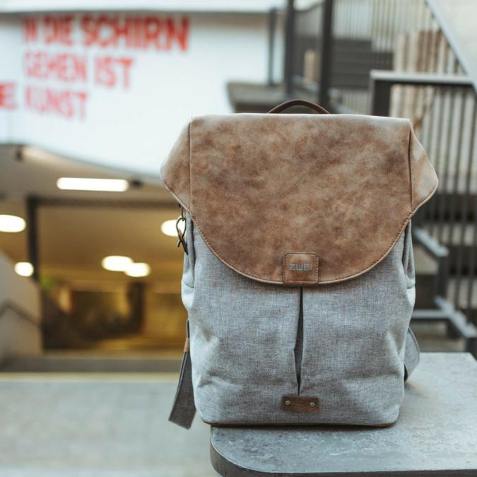 Zwei-bags Olli 12 hátitáska, szín: ice