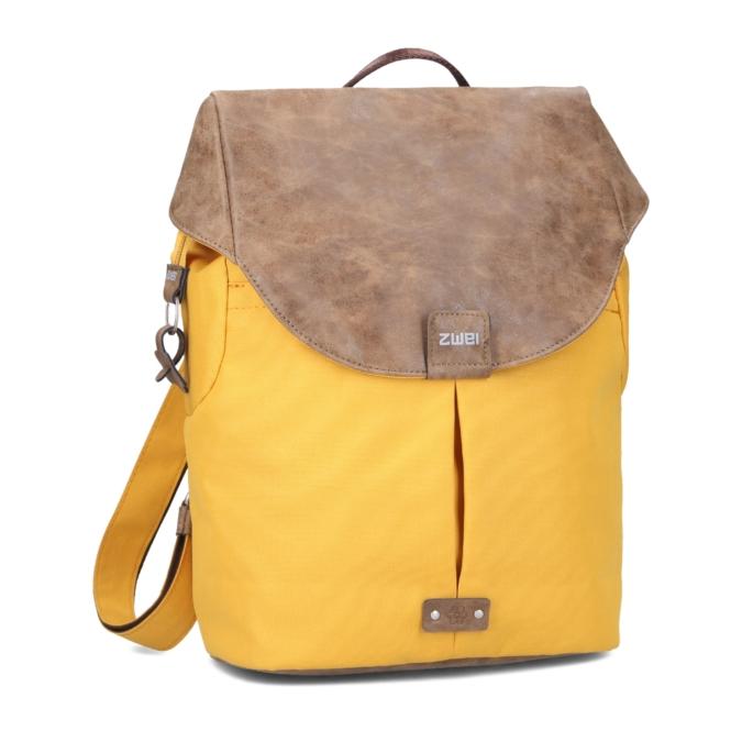 Zwei-bags Olli 12 hátitáska, szín: yellow
