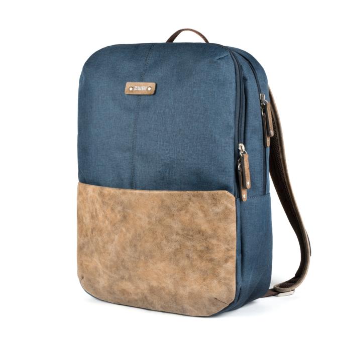 Zwei-bags Olli 23 hátitáska, szín: blue