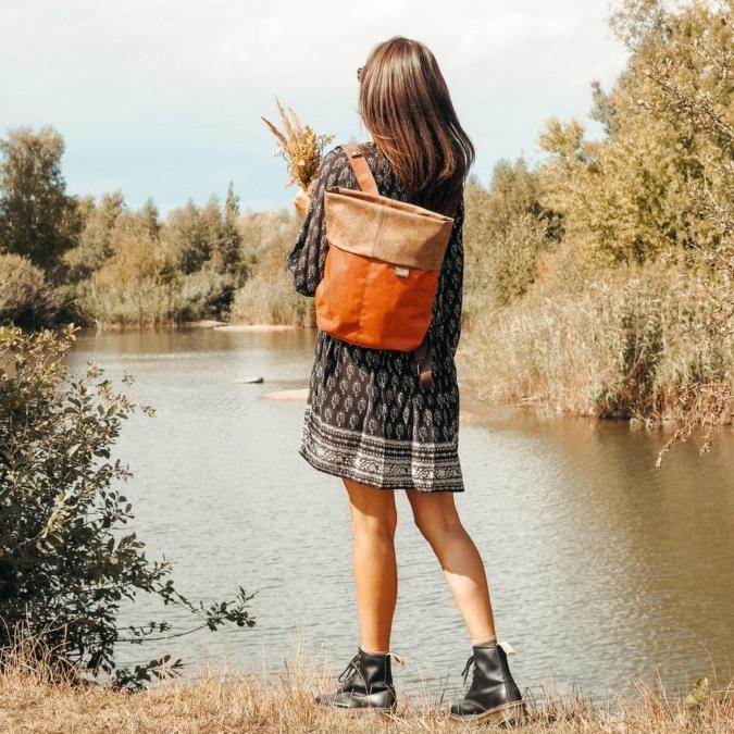 Zwei-bags Olli OR12 táska, szín: fox