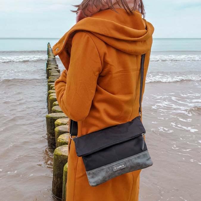 Zwei-bags Olli T6 táska, szín: noir, fekete