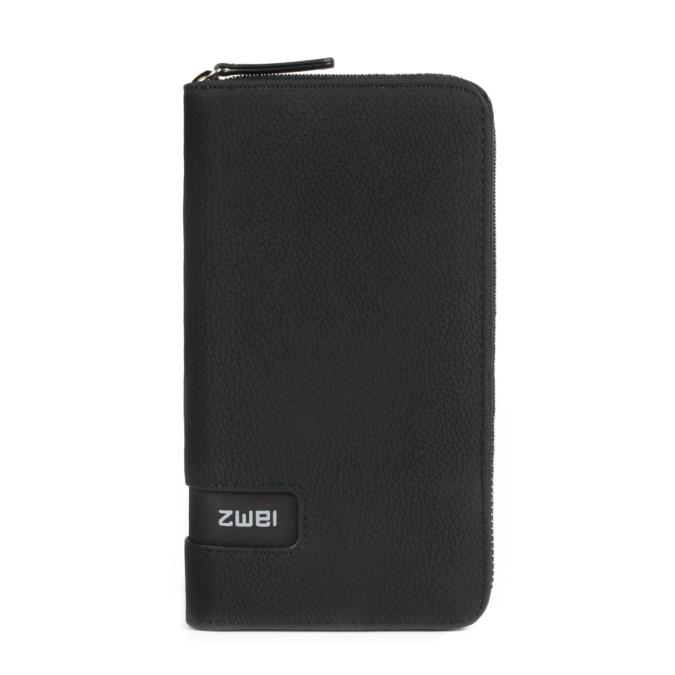 Zwei MW2 pénztárca, szín: nubuk-black, fekete