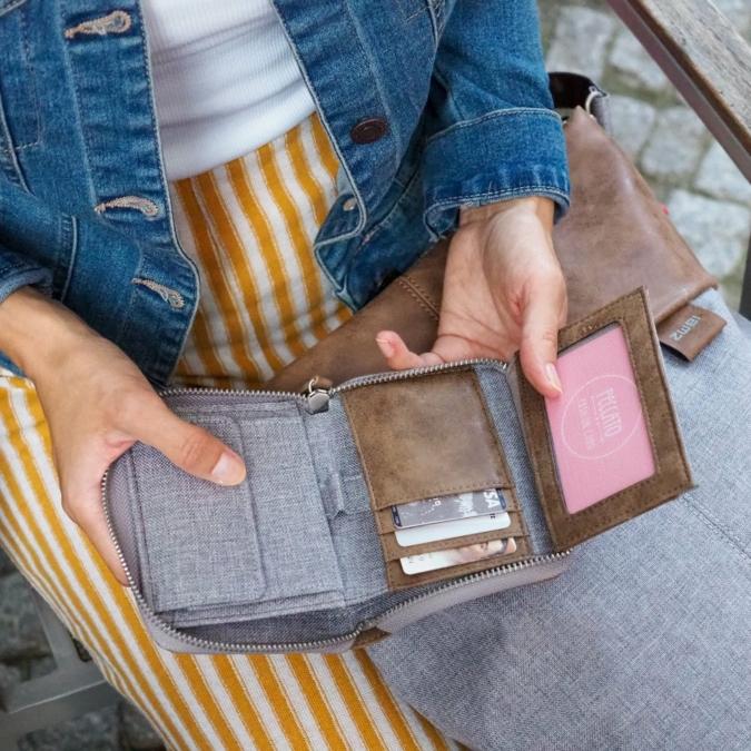zwei-bags OW1 pénztárca, szín: ice