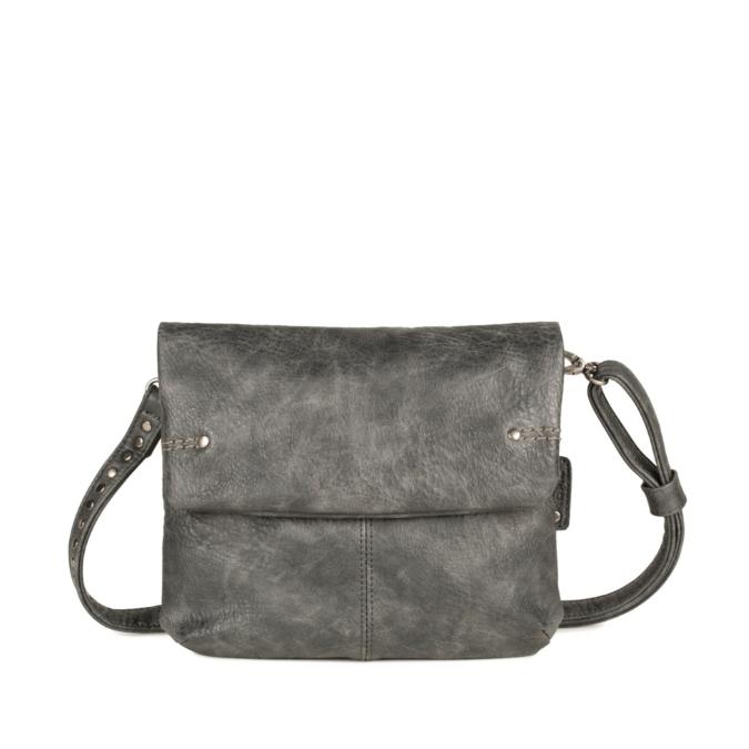 Zwei-bags Vintage oldaltáska, szín: black