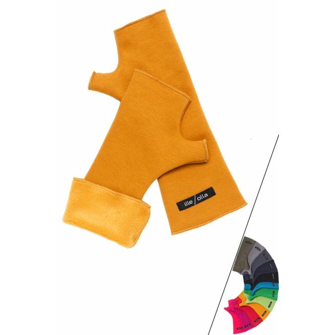 ille-olla EMI kézmelegítő, szín: okkersárga