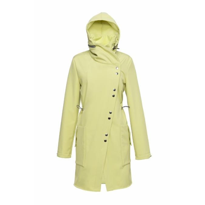 ille-olla FABIOLA kabát, szín: halványsárga