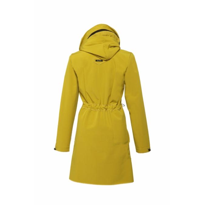 ille-olla FABIOLA kabát, szín: mustársárga