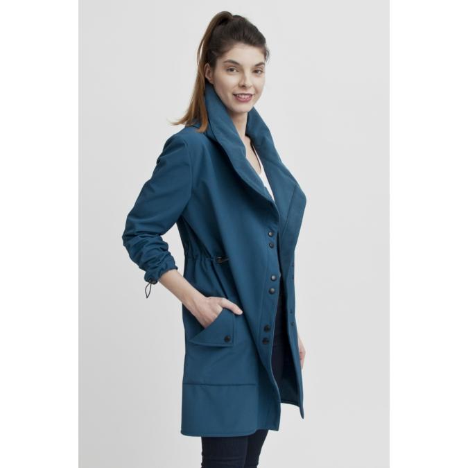 ille-olla FABIOLA kabát, szín: sötéttürkiz