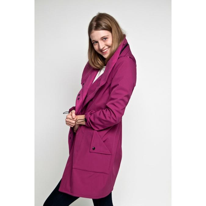 ille-olla FABIOLA kabát, szín: ciklámen