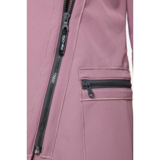 ille/olla FIODA kabát, szín: mályva