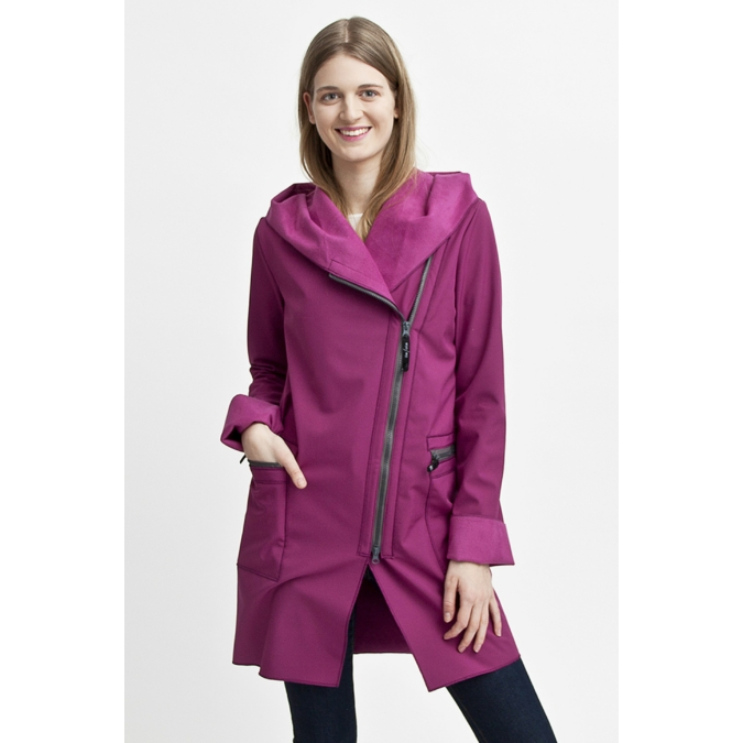 ille/olla FIODA kabát, szín: ciklámen