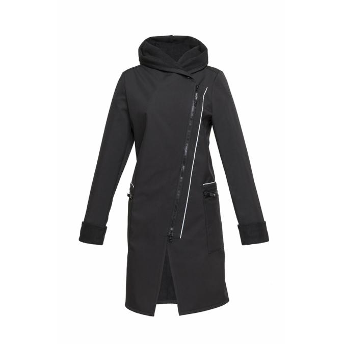 ille/olla FIODA BIKE kabát, szín: fekete