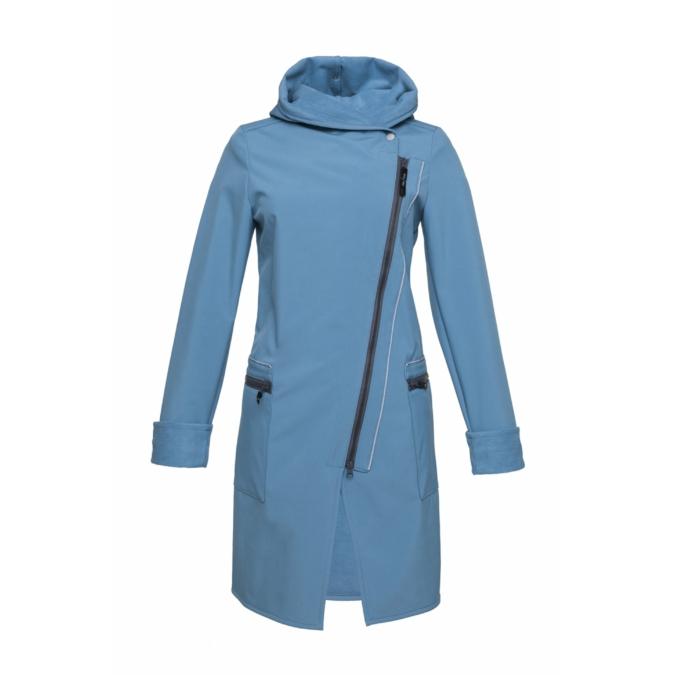 ille/olla FIODA BIKE kabát, szín: halványkék