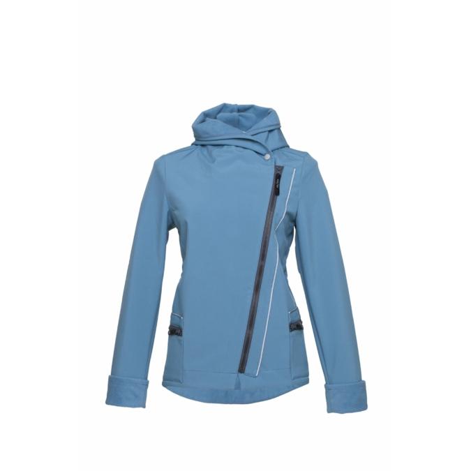 ille/olla FIODELLA BIKE kabát, szín: halványkék