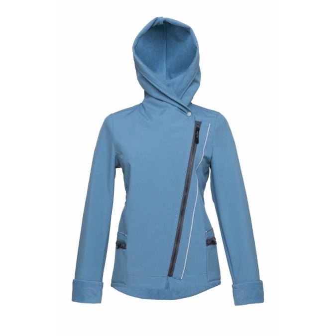 ille-olla FIODELLA BIKE kabát, szín: halványkék
