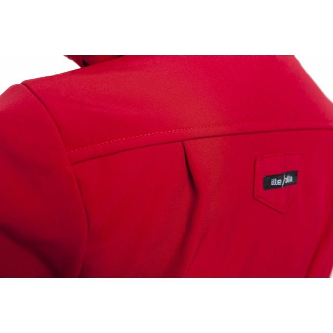 ille/olla FIODELLA BIKE kabát, szín: meggypiros