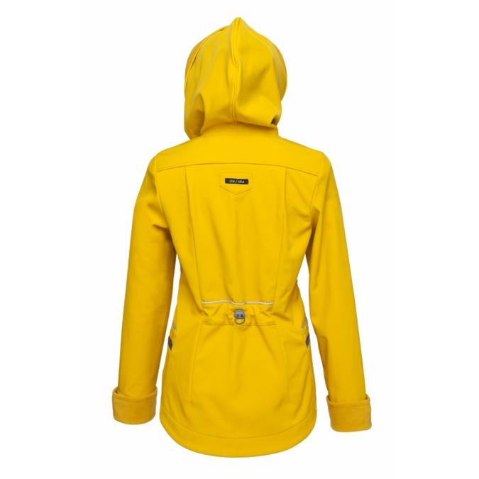 ille/olla FIODELLA BIKE kabát, szín: napsárga
