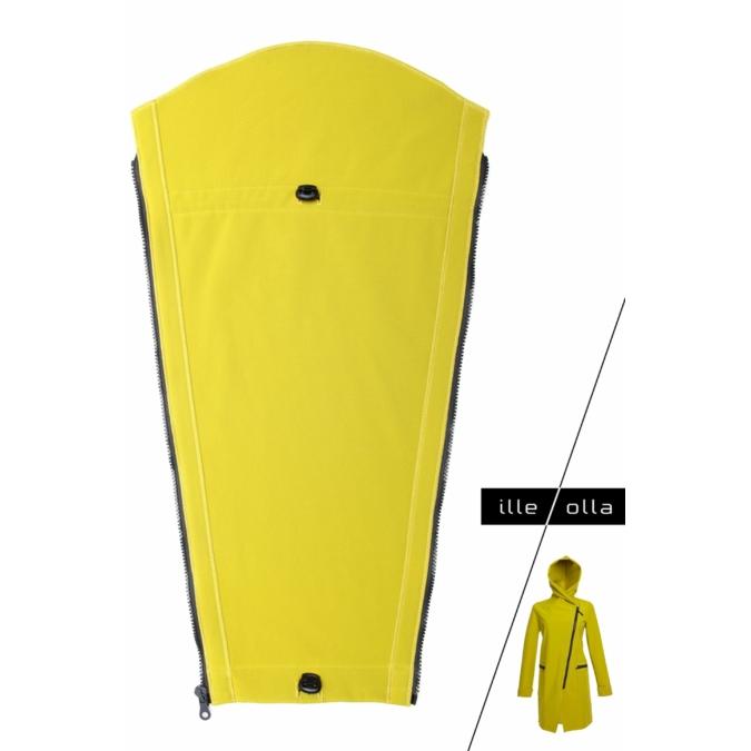 ille/olla FIODA hordozó betét, szín: mustársárga