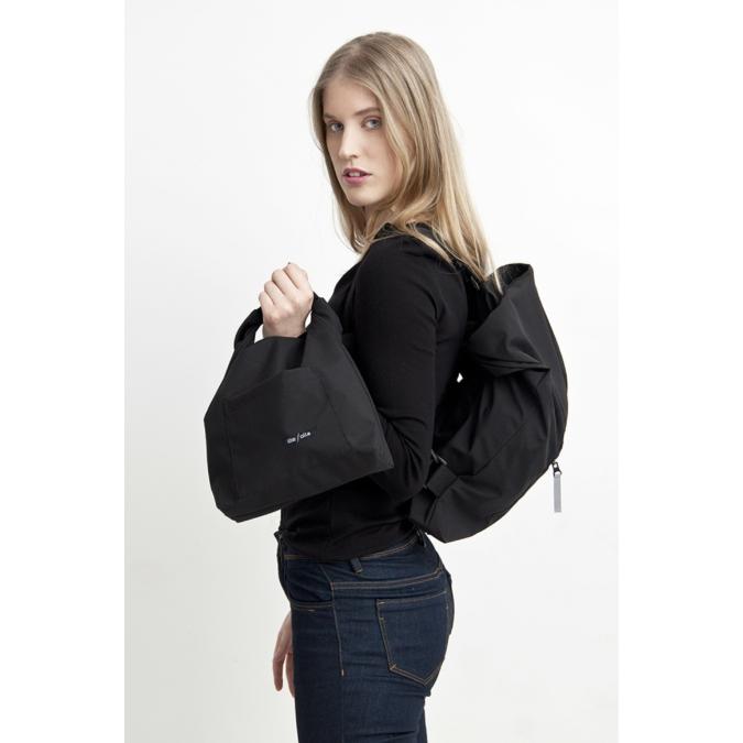 ille-olla TIM-TOM többfunkciós táska, szín: fekete